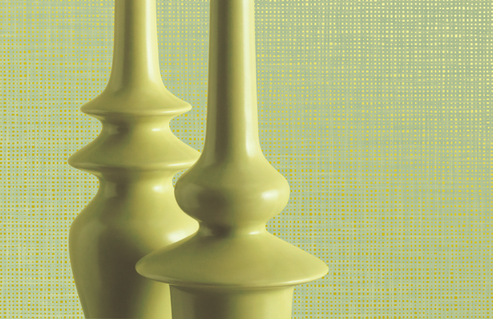 zuna celery green commercial wall covering