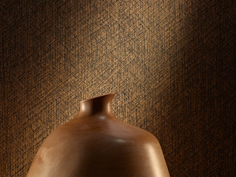 Colour & Design Keo Commercial Wallcovering with sculpture