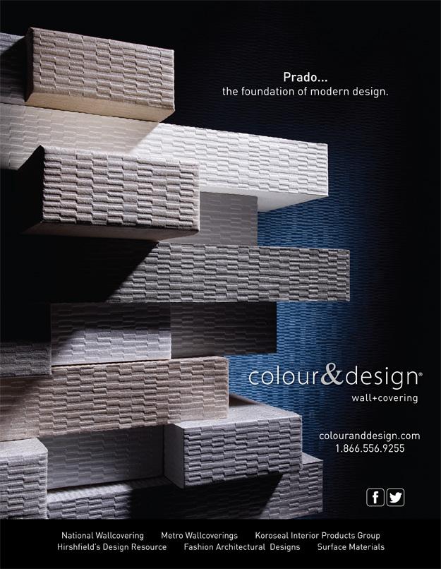 Colour & Design Prado advertisement in Interior Design Magazine Fall November 2013