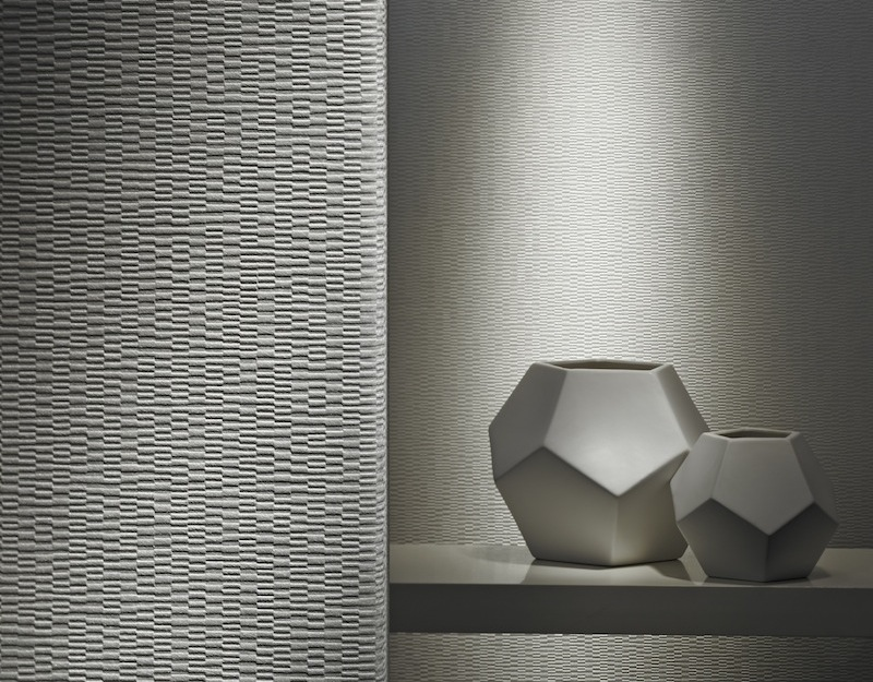 Colour and Design commercial wall covering interior design prado with sculpture