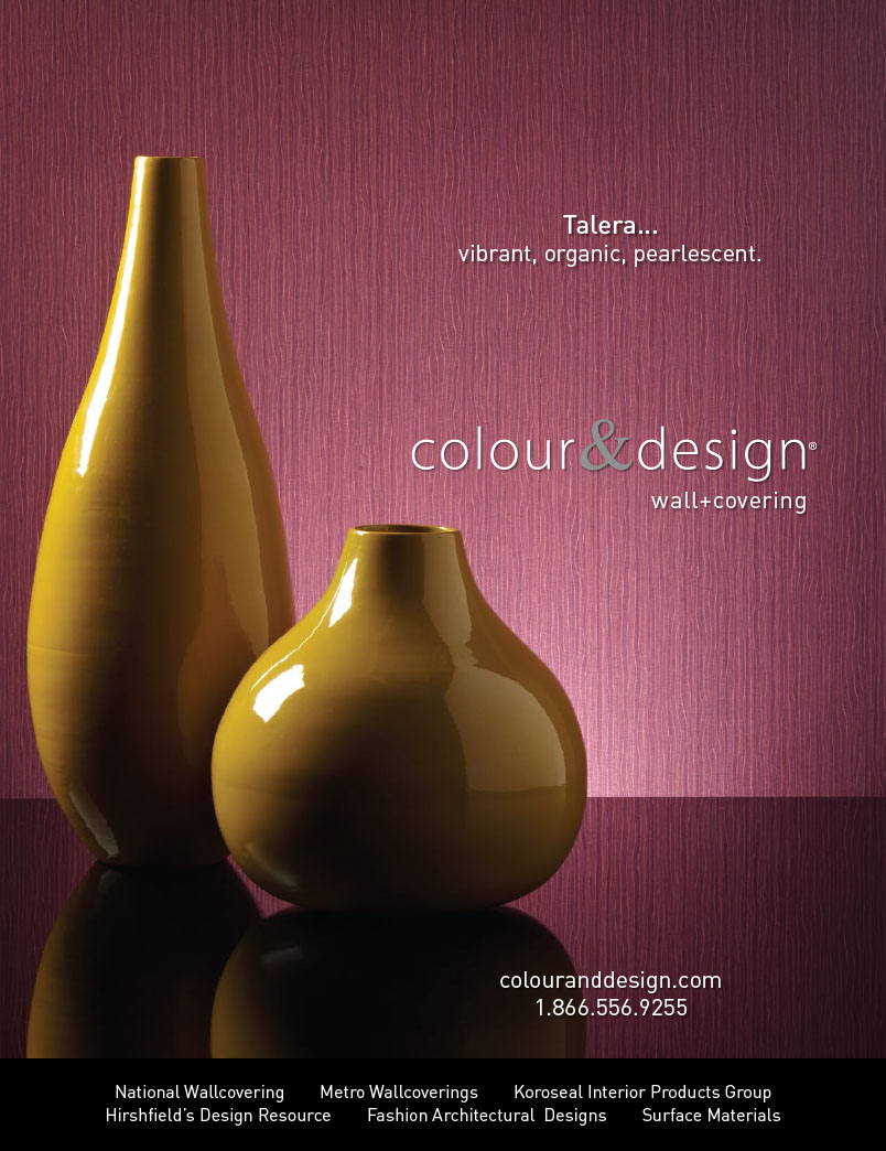 Colour and design talera wall covering royal plum with sculptures vibrant organic pearlescent